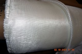 Open Weave no finish 4.63 oz/sq yd fiberglass cloth