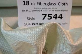 Style 7544 loose cloth with id sheet 18 oz tooling cloth from Thayercraft