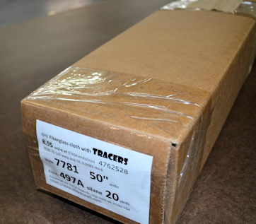 7781 50 497A BLUE TRACERS 20yds ready to ship