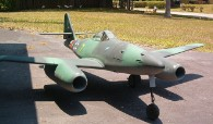 B17 Joe's Messerschmitt Me 262 made with fiberglass from Thayercraft