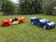 Boynton Beach kids cars made using fiberglass from Thayercraft