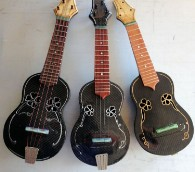 Doc Waddel's beautiful instruments